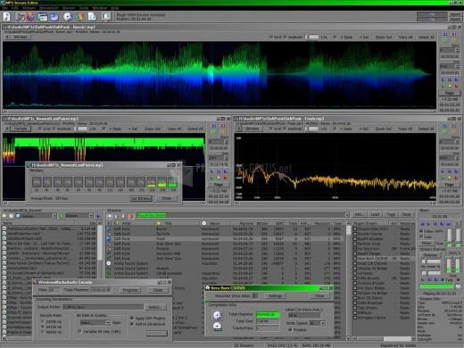 Pantallazo MP3 Stream Editor