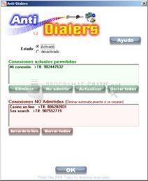 Pantallazo Anti-Dialers