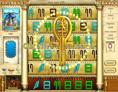 Pantallazo Mysteries of Horus Deluxe