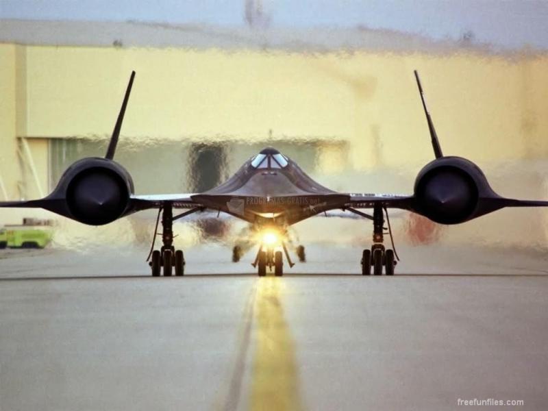 Pantallazo SR-71 on Runway