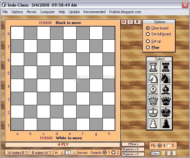 Pantallazo Indo Chess