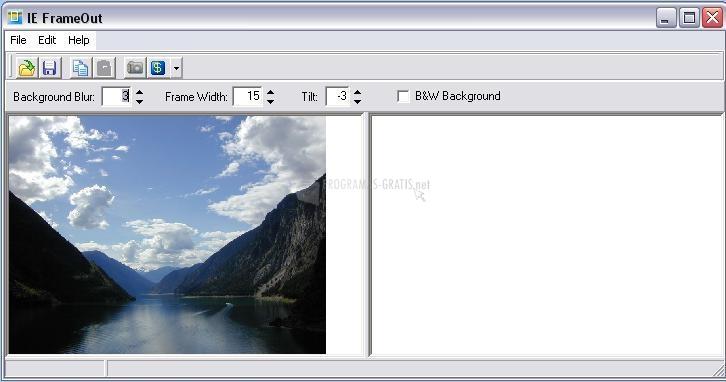 Pantallazo ImageElements FrameOut
