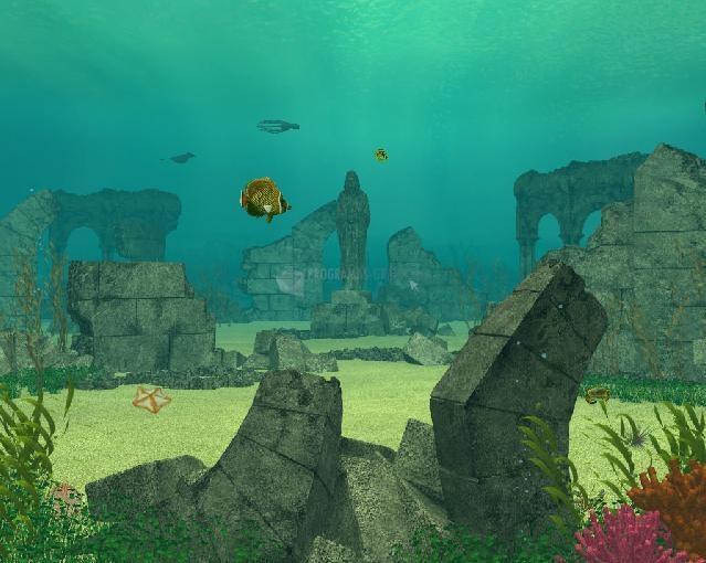 Pantallazo Underwater Ruins