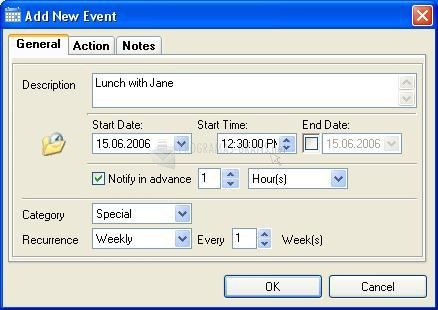 Pantallazo Smart Desktop Calendar