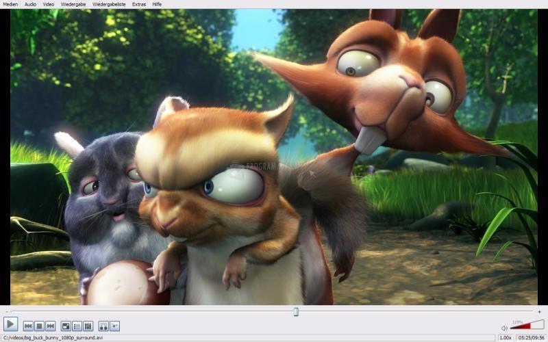 Pantallazo VideoLAN VLC Media Player