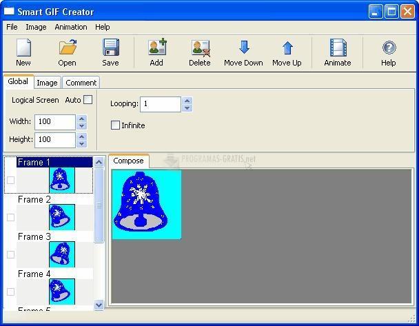 Pantallazo Smart GIF Creator