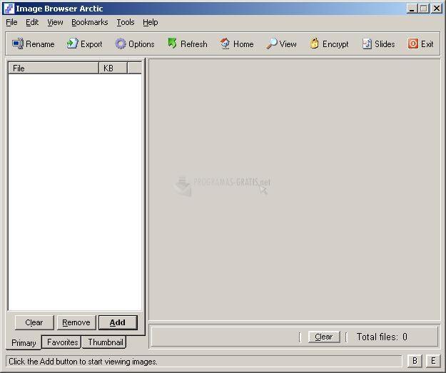 Pantallazo Uticasoft Image Browser