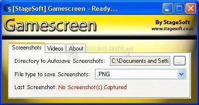 Pantallazo Gamescreen