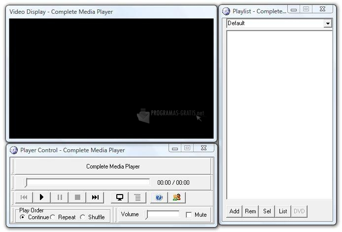 Pantallazo Complete Media Player