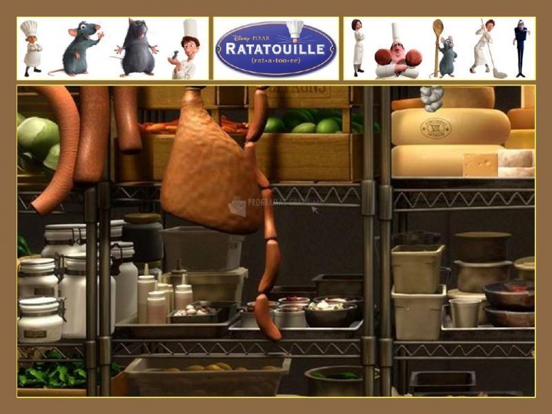 Pantallazo Ratatouille Screensaver