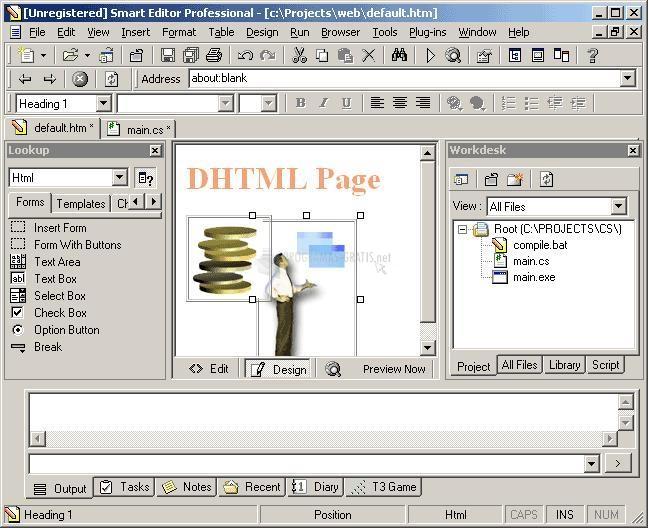 Pantallazo Smart Editor Professional
