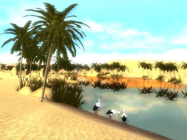 Pantallazo Egypt 3D Screensaver
