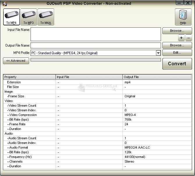 Foto OJOsoft PSP Video Converter