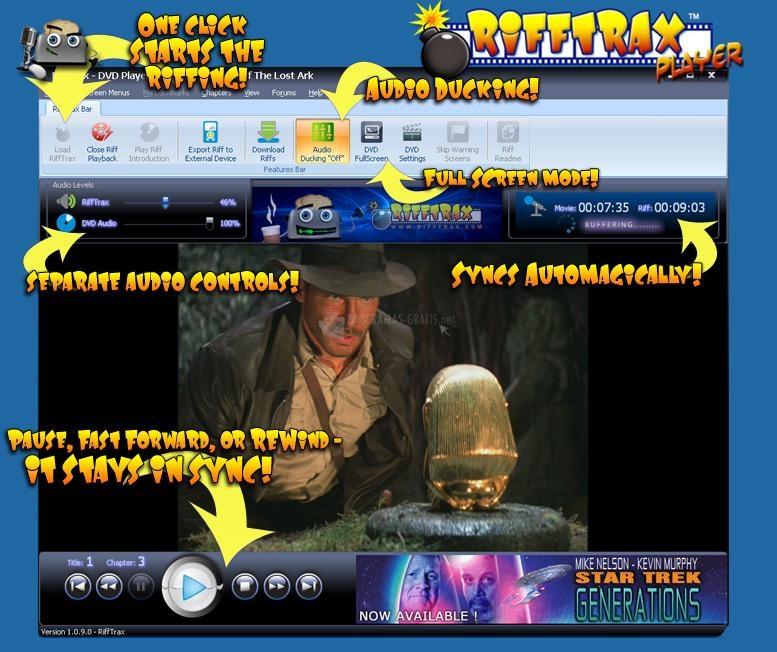 Pantallazo RiffTrax DVD Player