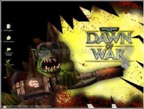 Pantallazo Dawn of War: Ork Blast Screensaver.
