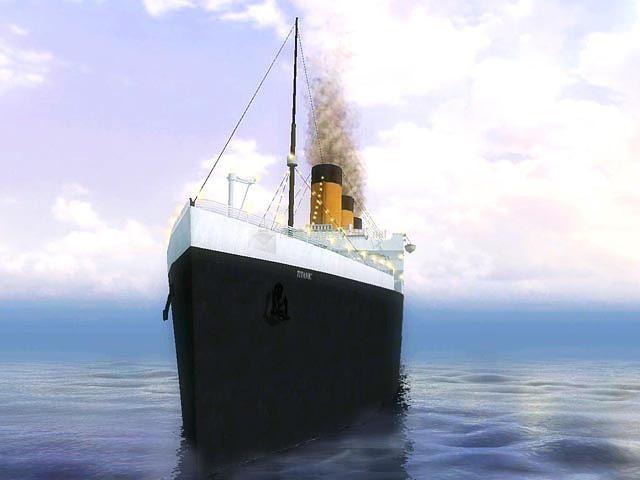 Pantallazo 3D Titanic Screensaver