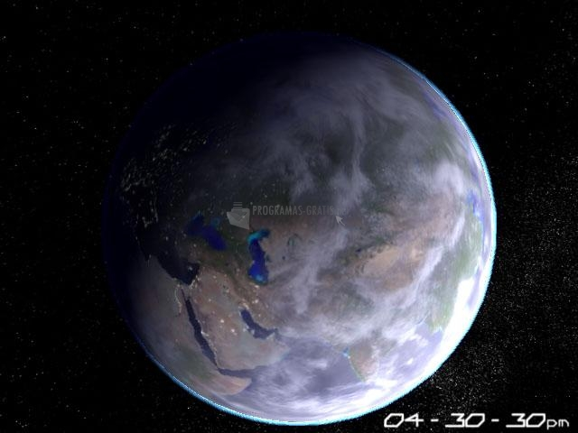 Pantallazo Planet Earth 3D Screensaver