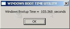Pantallazo Boot Timer