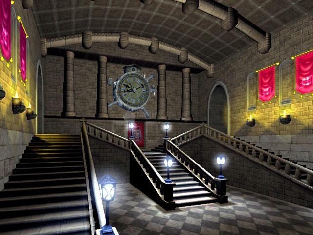 Pantallazo School of Magic 3D Screensaver