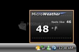 Pantallazo Micro Weather