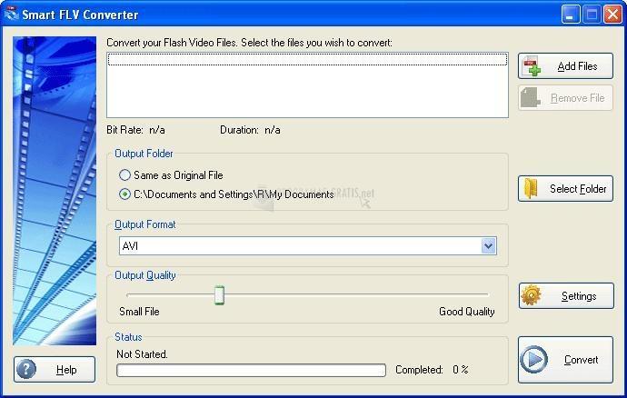 Pantallazo Smart FLV Converter Standard