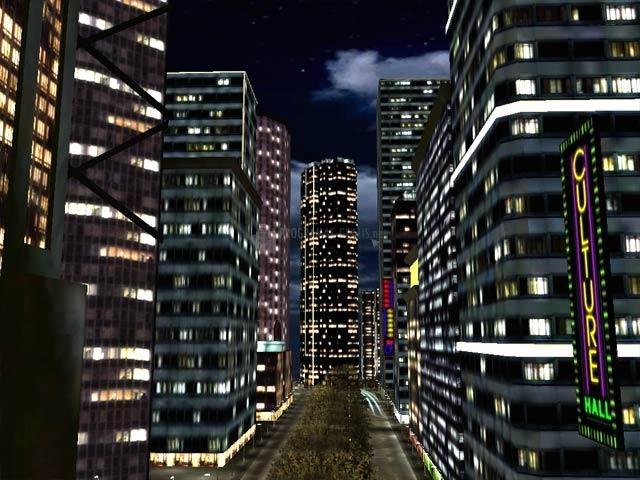 Pantallazo Night City 3D Screensaver