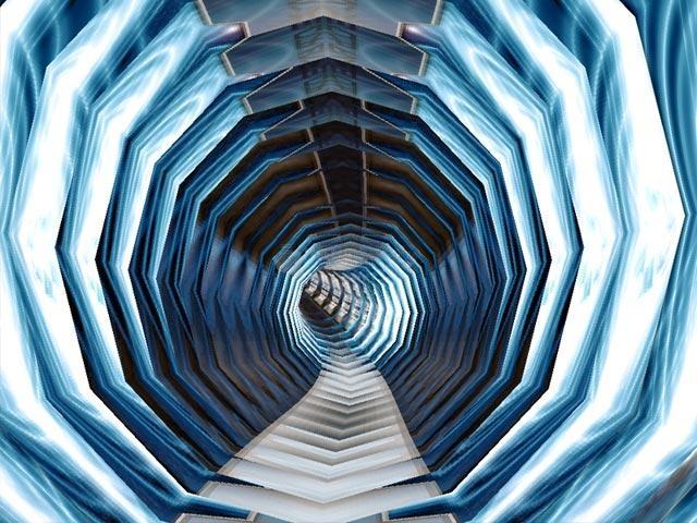 Pantallazo Space Tunnels 3D Screensaver