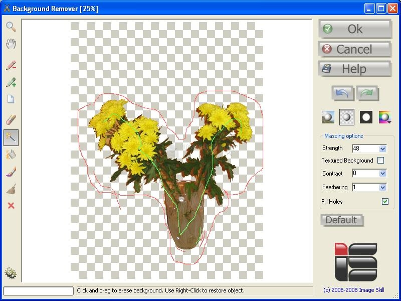 Pantallazo Background Remover