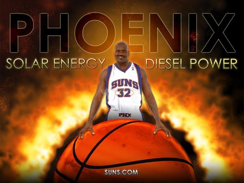 Pantallazo Shaquille O`Neal Phoenix Suns