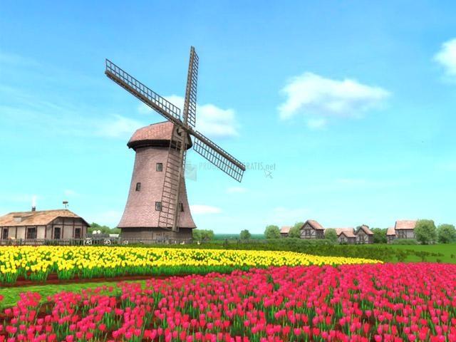 Pantallazo Windmill 3D Screensaver