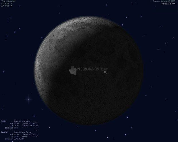 Pantallazo Actual Moon 3D