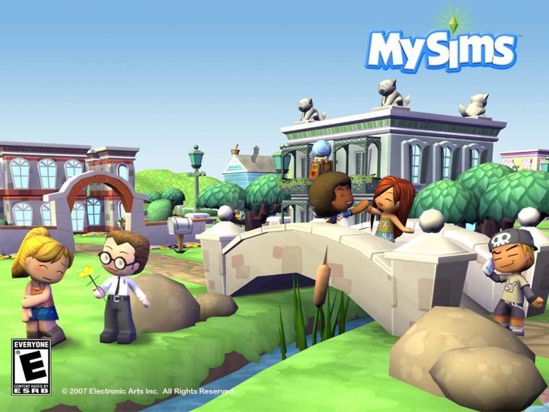 Pantallazo My Sims - Bridge