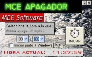 Pantallazo MCE Apagador