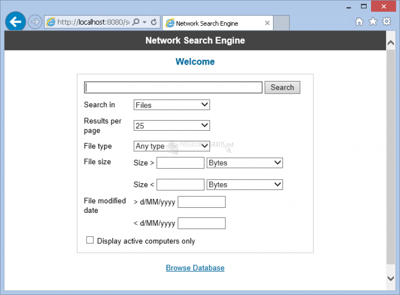 Foto SoftPerfect Network Search Engine