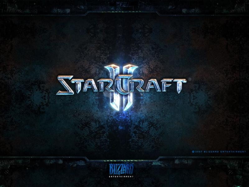 Pantallazo Starcraft 2 – Wallpaper Logo
