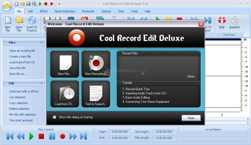 Pantallazo Cool Record Edit Deluxe