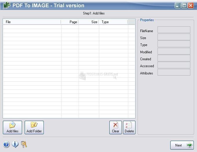 Pantallazo OakDoc PDF to Image Converter