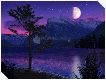Pantallazo Moonlight Lake Screensaver