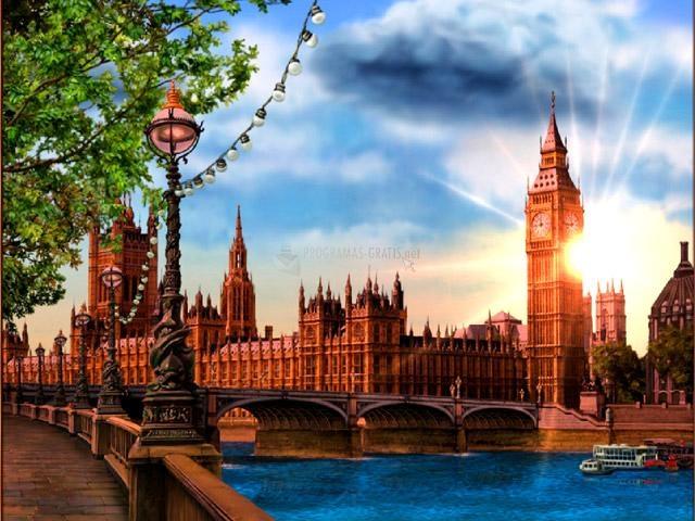 Pantallazo Around the World: London Screensaver