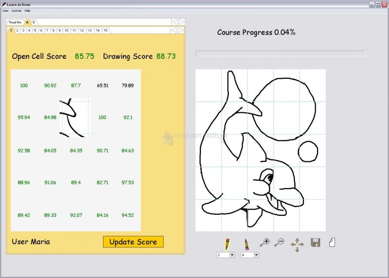 Pantallazo Learn to Draw for Beginners