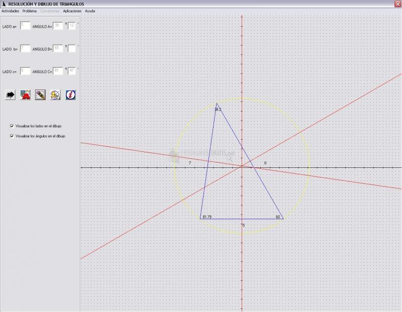 Pantallazo Triángulos