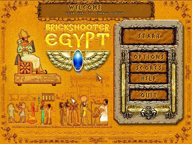 Pantallazo Brickshooter Egypt