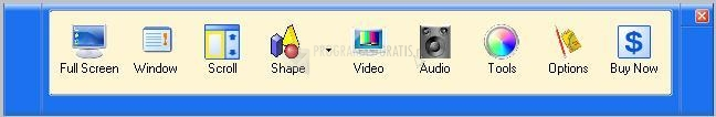 Pantallazo Infallsoft Screen Capture