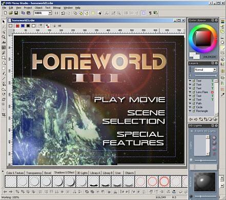 Pantallazo DVD Menu Studio