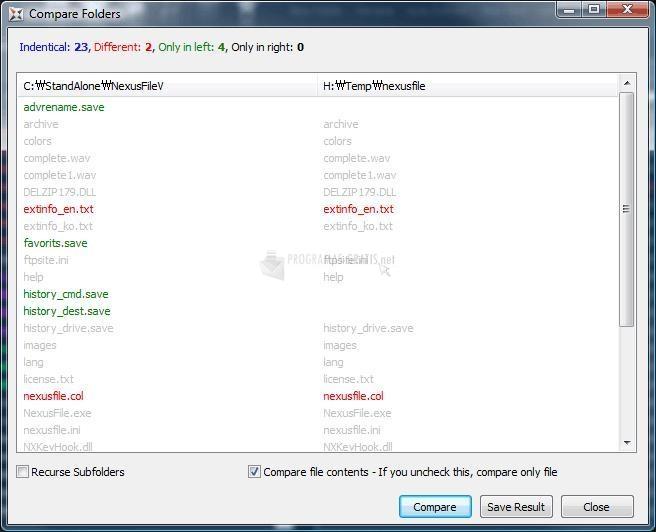 Captura Nexus File