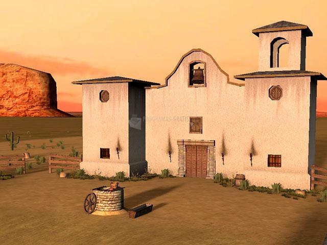 Captura Wild West 3D Screensaver