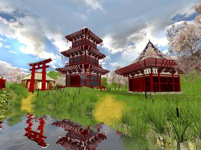 Pantallazo Japanese Garden 3D Screensaver