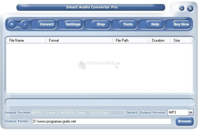Pantallazo Smart Audio Converter Pro