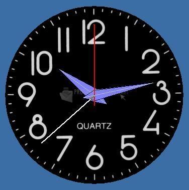 Pantallazo Round Clock 2005