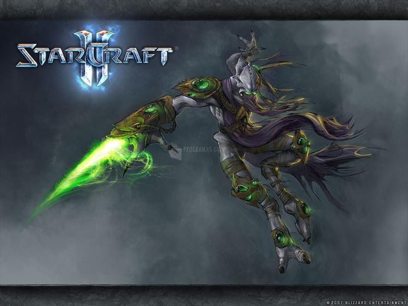 Pantallazo Zeratul – Wallpaper Starcraft 2